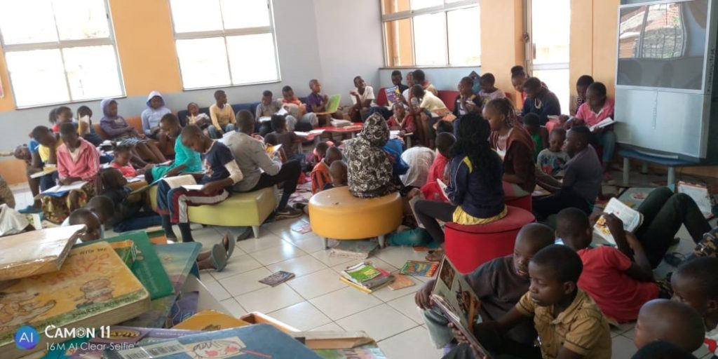 Every African child deserves to learn how to read. Libraries are safe places for children.