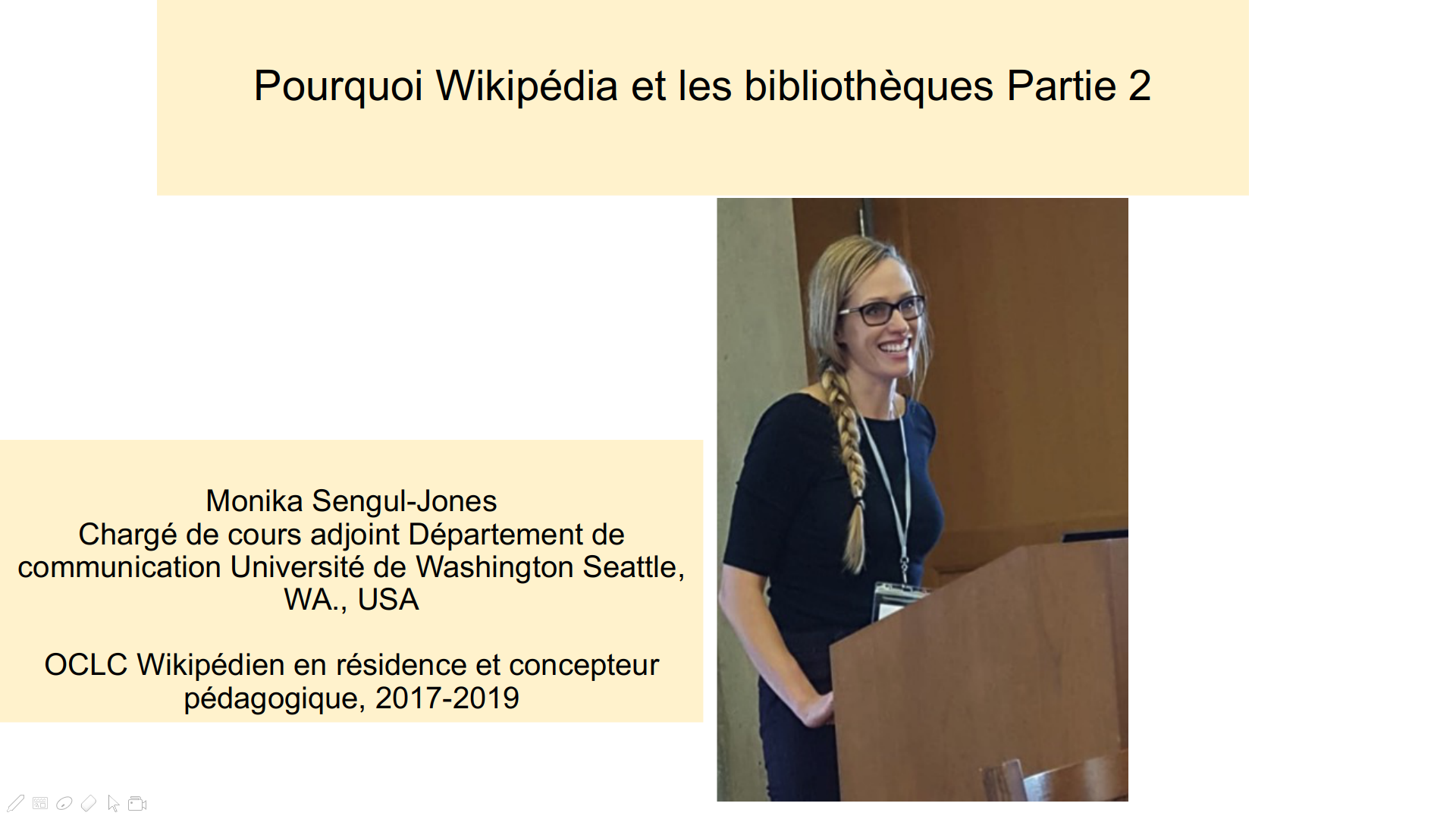 Pourquoi Wikipédia et les bibliothèques Partie 2