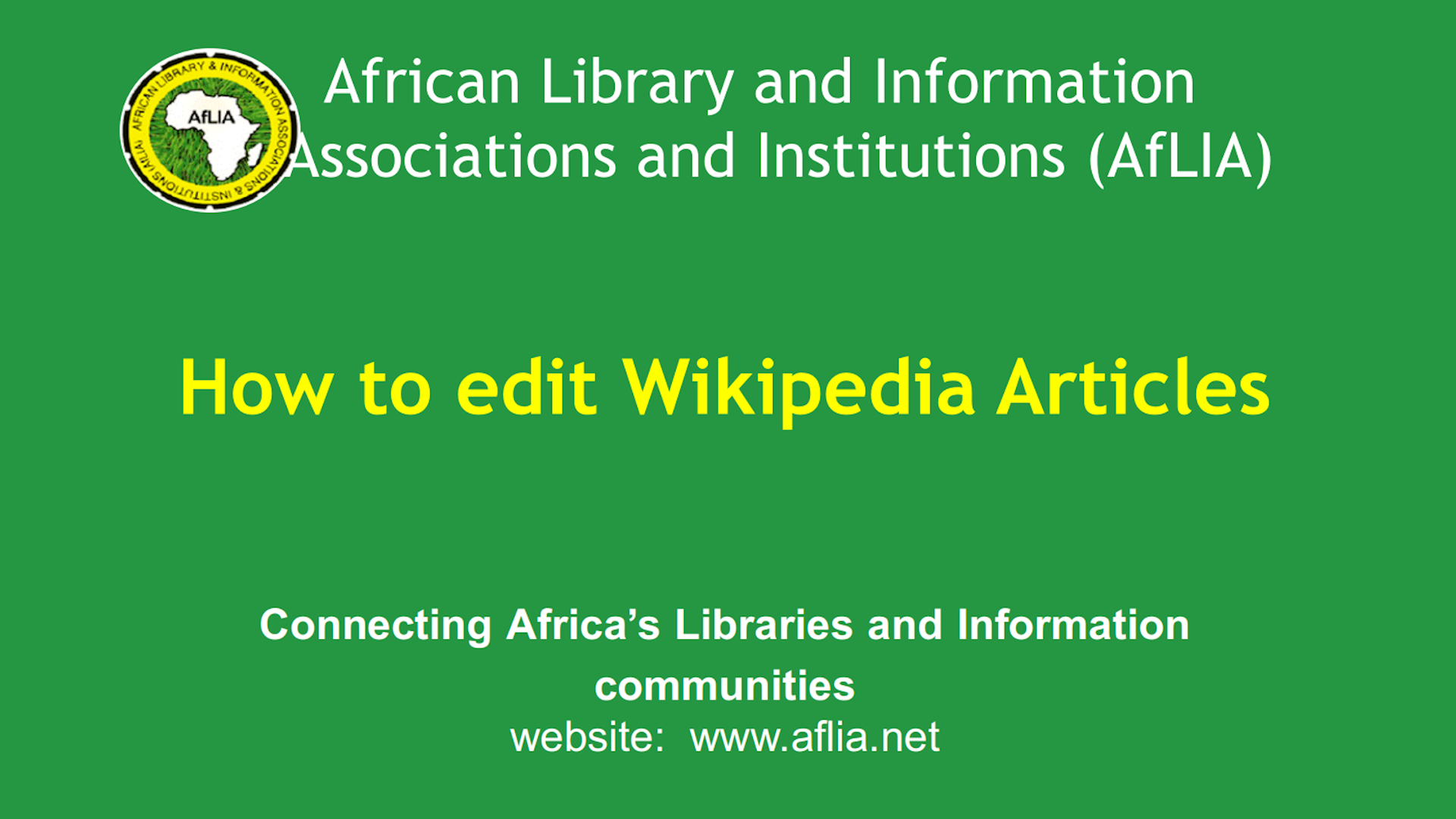 How to edit Wikipedia articles