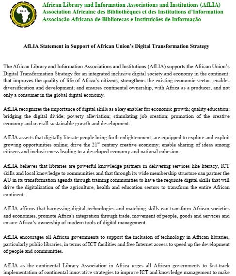 AfLIA_AU Digital Transformation